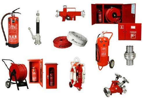 Yangın Malzemeleri & Ekipmanları